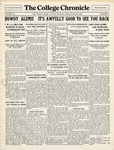 The Chronicle [October 29, 1926]