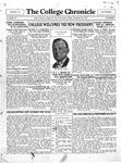 The Chronicle [September 23, 1927]