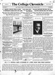 The Chronicle [October 21, 1927]