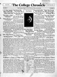 The Chronicle [April 26, 1929]