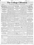 The Chronicle [September 20, 1929]