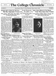 The Chronicle [October 4, 1929]