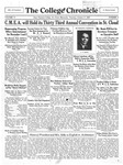 The Chronicle [October 17, 1929]