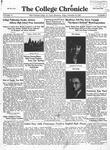 The Chronicle [November 22, 1929]