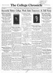 The Chronicle [February 14, 1930]