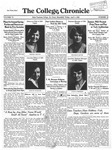 The Chronicle [April 4, 1930]