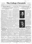 The Chronicle [November 7, 1930]