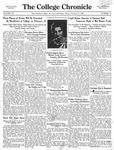 The Chronicle [February 13, 1931]