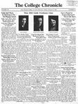 The Chronicle [February 27, 1931]