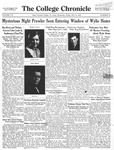 The Chronicle [May 15, 1931]