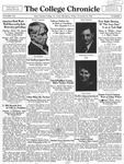 The Chronicle [November 20, 1931]
