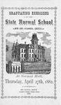 Commencement Program [Spring 1882]