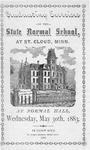 Commencement Program  [Spring 1883]