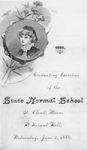 Commencement Program [Spring 1886]