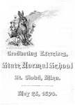 Commencement Program [Spring 1890]