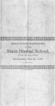Commencement Program [Spring 1895]