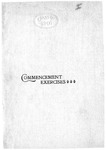 Commencement Program [Spring 1901]