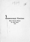 Commencement Program [Spring 1904]