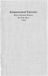 Commencement Program [Spring 1906]