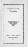 Commencement Program [Spring 1912]