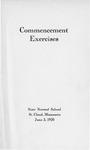 Commencement Program [Spring 1920]