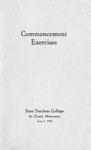 Commencement Program [Spring 1922]