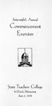 Commencement Program [Spring 1938]