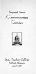 Commencement Program [Spring 1939]