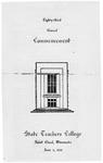 Commencement Program [Spring 1953]