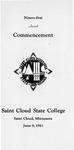 Commencement Program [Spring 1961]