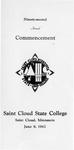 Commencement Program [Spring 1962]