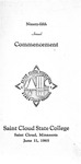 Commencement Program [Spring 1965]