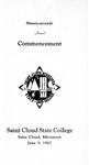 Commencement Program [Spring 1967]