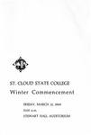 Commencement Program [Winter 1969]