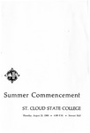 Commencement Program [Summer 1969]