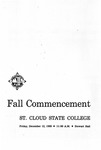 Commencement Program [Fall 1969]