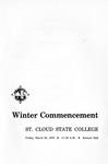 Commencement Program [Winter 1970]