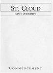 Commencement Program [Fall 1994]