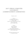 Commencement Program [Spring 2017] by St. Cloud State University