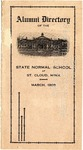 Alumni Directory of the State Normal School at St. Cloud, Minn. [March 1908]
