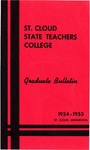 Graduate Course Catalog [1954/55] by St. Cloud State University