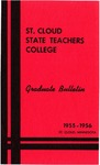 Graduate Course Catalog [1955/56]