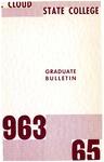 Graduate Course Catalog [1963/65]