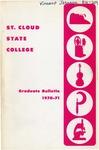 Graduate Course Catalog [1970/71] by St. Cloud State University