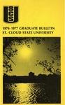 Graduate Course Catalog [1976/77] by St. Cloud State University