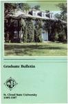 Graduate Course Catalog [1985/87] by St. Cloud State University