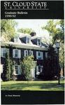 Graduate Course Catalog [1990/92] by St. Cloud State University