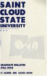 Graduate Course Catalog [1992/94]