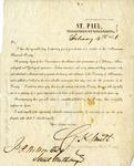 Minnesota Historical Society membership certificate by Minnesota Historical Society