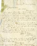 Letter, John L. Wilson to Joseph P. Wilson [March 27, 1854]